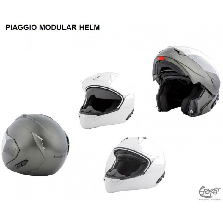 Helm Klapphelm Piaggio