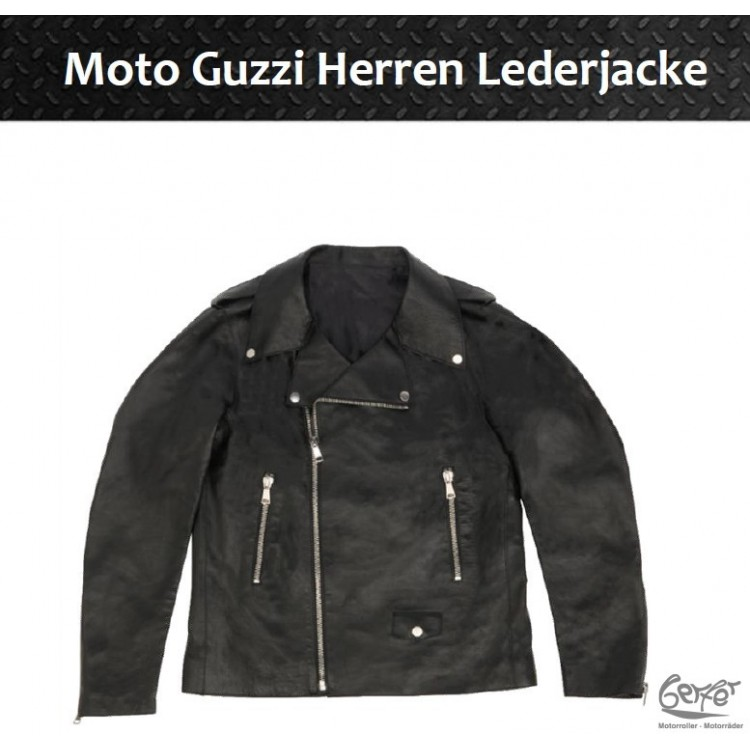 Herrenlederjacke_Moto Guzzi