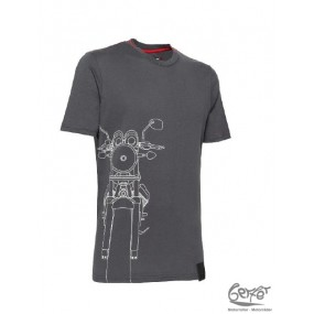 Moto Guzzi V7 Shape T-Shirt