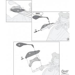 Handprotektoren V85