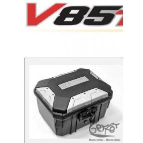 V85 Topcase-Alu/Kunststoff